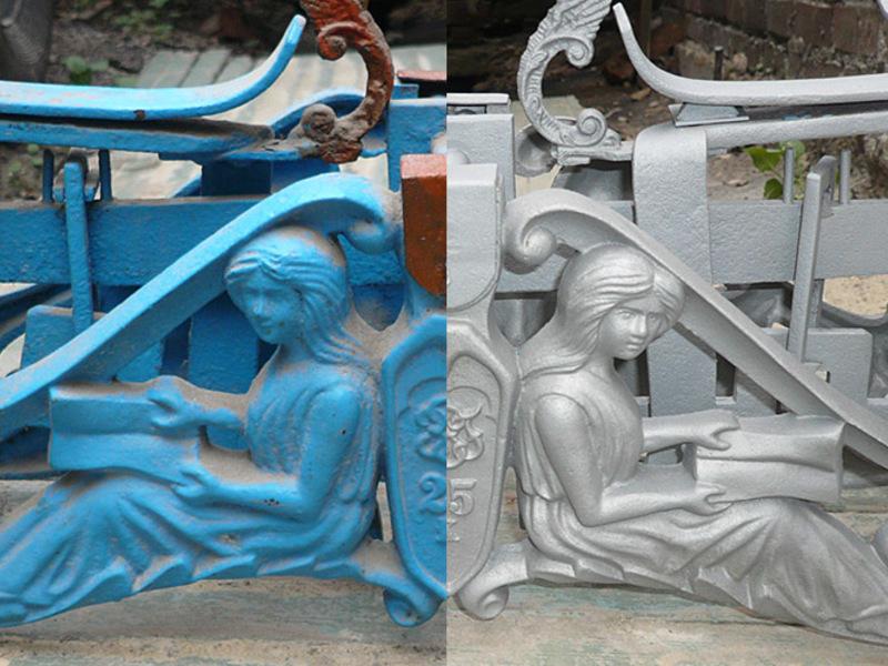 Очистка заборов, ограждений, памятников, скульптур Республика БЕЛАРУСЬ