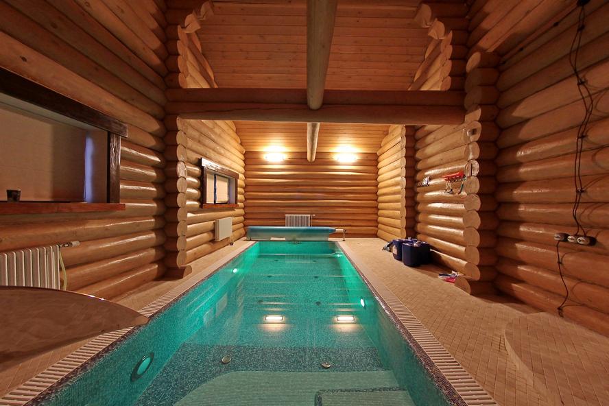 Портфолио - Баня с бассейном - под КЛЮЧ (бревно ручной рубки)